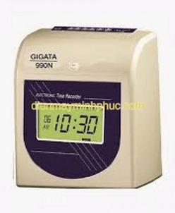 Máy chấm công thẻ giấy Gigata 990N